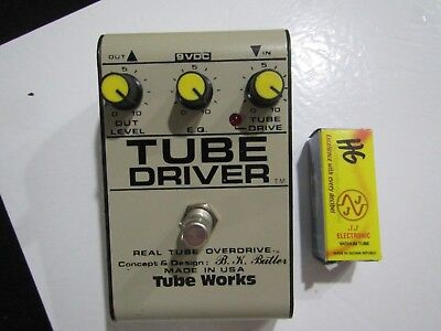 bk butler tube works tube driver overdrive 12ax7 od effects pedal picclick. Black Bedroom Furniture Sets. Home Design Ideas