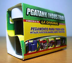 Pegatanke Black Marine Epoxy Glue / Super Strong / Dries Underwater 44 Cc.!!