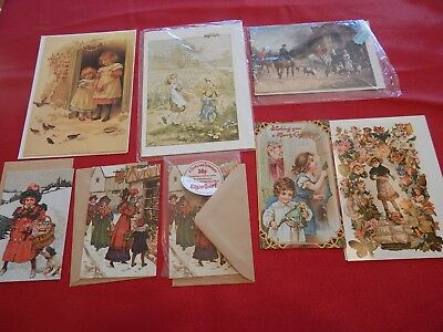 Vintage 1970's Greeting Cards With Envelopes From UK and Holland