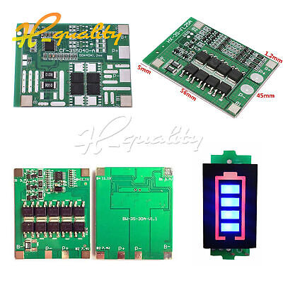 3S 12V 12A/25A/30A 18650 Li-ion Battery BMS PCB Protection Board
