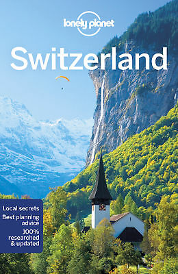 Lonely Planet Switzerland 9 Travel Guide 2018 BRAND NEW 9781786574695