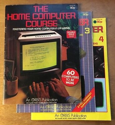 The Home Computer Course issues 1 to 4 published by Orbis 1983