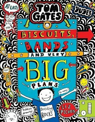 Tom Gates: Biscuits, Bands and Very Big Plans by Pichon, Liz Book The Cheap Fast