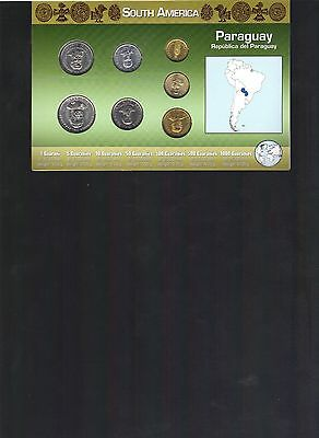 Paraguay Coin Set