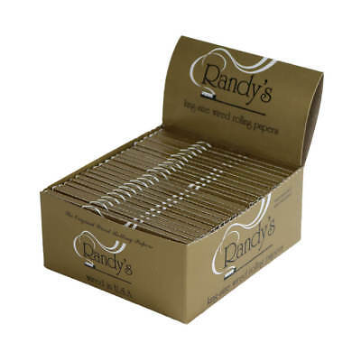 Randy's King-Sized Wired Rolling Papers - 11 Packs- (24 leaves Per Pack)