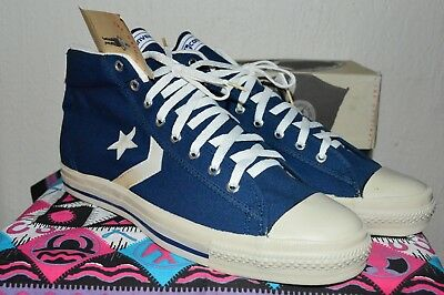 fe72ab1c5448 Converse All Star Vintage Rare Canvas Deadstock OG MADE IN USA 11 NWB