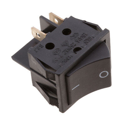 20A/250V 4-Pin ON OFF DPST Black Button Rocker Switch for Car Motorcycle