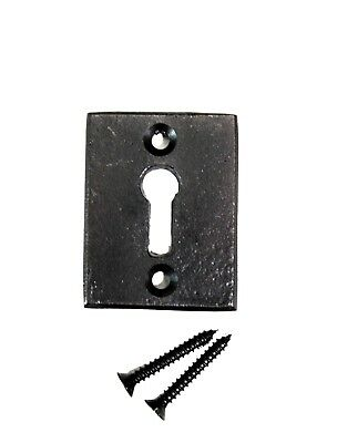 Cast Iron Key Hole Rectangular Vintage Style for Hardware Restoration Escutcheon
