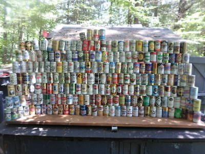 Qty = [234] 1950`s`-80`s Vintage Beer Can Collection -[Read Description / Ship]-