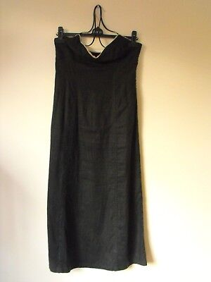 c378aa30853 LADIES - ARMANI made in Italy LInen Sun Dress in GB size 10 -  19.85 ...
