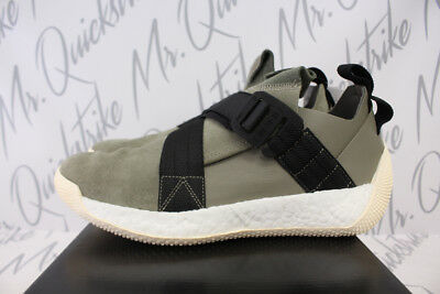 7e27fb3dfdc9 ADIDAS HARDEN LS 2 Buckle Sz 11 Olive White Black Boost Aq0020 ...