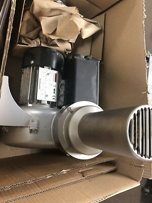 Leister Vulcan how air blower unit. New in box never used