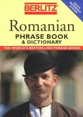 Romanian Phrase Book & Dictionary by Berlitz Paperback Book The Cheap Fast Free