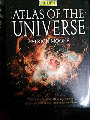 Atlas of the Universe by Moore, Patrick Hardback Book The Cheap Fast Free Post