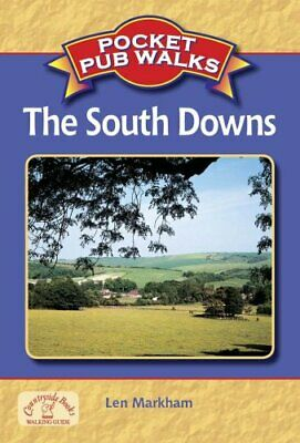 Pocket Pub Walks the South Downs by Len Markham Paperback Book The Cheap Fast