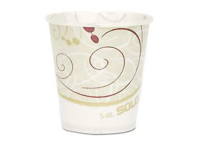 Solo Paper Water Cups, Waxed, 5oz, 100/Pack R53SYMPK