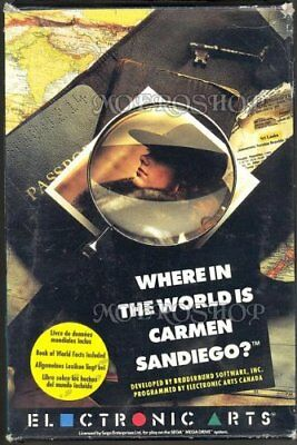 Where in the World is Carmen Sandiego? (Mega Drive) - Game  D6VG The Cheap Fast