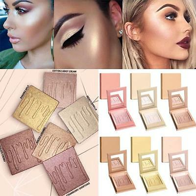 8 Colors Beauty Freestyle Highlighter Makeup Face Bronzer Shimmer Contour Powder