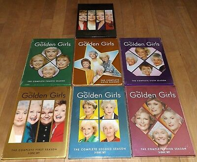 The Golden Girls dvd complete series season 1 2 3 4 5 6 7 - 3 of these are NEW