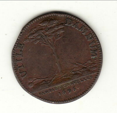 LOUIS XIV  very rare jeton 1696
