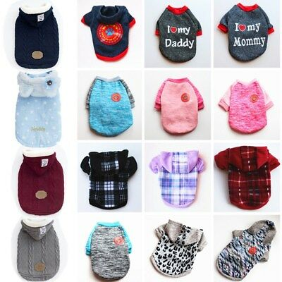 11 Colors XXS-XXL Cartoon Small Dog Clothes Pet Puppy Cute Vest Dog Cat Apparel