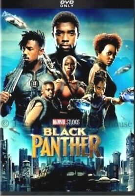 Black Panther (DVD,2018) DISC ONLY* NEW* Action, Adventure*Now Shipping