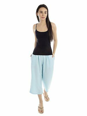 Capri Viscose Trouser for women and girls Stylish Summer Wear Pants