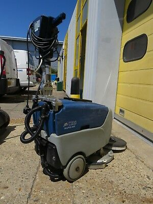 Wirbel Rapid 380 Scrubber Dryer cleaning machine Used New Vacuum and Brush