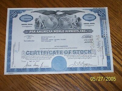 Lot of 3 Different Pan American World Airways