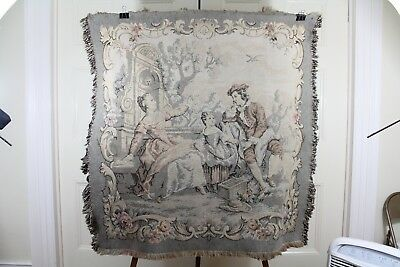Vintage Hanging Tapestry Stunning 19th Century French needlework Made In France