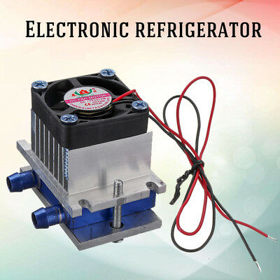 Thermoelectric Peltier Refrigeration Semiconductor Cooling System Kit Cooler Fan