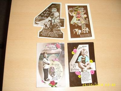 Age Number  - Collection Of Vintage Greeting  Postcards