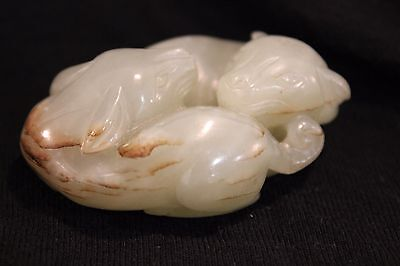 Antique Chinese Jade Carving Figure