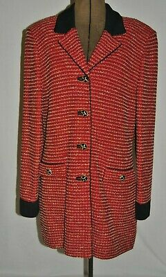 Gorgeous St John  Vintage Jacket Collection by Marie Gray.. Size 8
