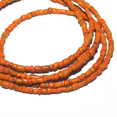 1 strand ancient indo-pacific tradewinds tiny glass beads #24