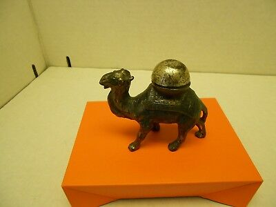 Vintage Camel Table Lighter Very Nice Rare Working