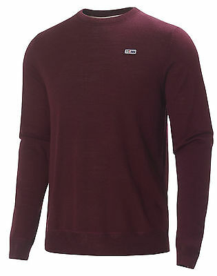 HH Helly Hansen Mountain Round Neck  51485 bordeaux  Pullover Strickpullover
