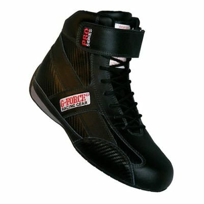 G-Force Racing 0236115BK Size 11.5 Black High-Top GF236 Pro Series Driving Shoes