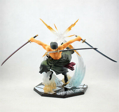 "6.7"" / 17cm One Piece Roronoa Zoro Battle Ver. Action Figure Collection in Box"