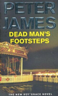 Dead Man's Footsteps by James, Peter Paperback Book The Cheap Fast Free Post