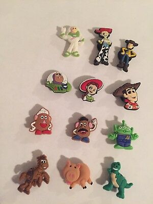 shoe charms TOY STORY (set of 12)USA Seller Free Shipping