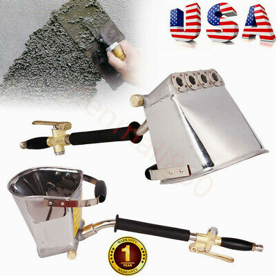 Air Mortar Sprayer Stucco Plaster Hopper Gun Wall Cement Plastering Sprayer Tool