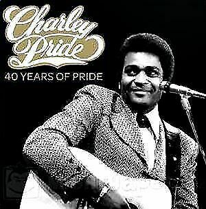 CHARLEY PRIDE - 40 Years Of Pride 2 CD *NEW* Greatest Hits, Crystal Chandalier