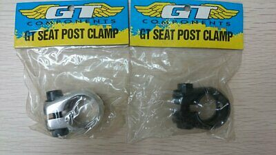 NOS BMX ODYSSEY RX 2 SEAT POST CLAMP IN BLACK NEW IN PACKET 90/'s 25.4mm