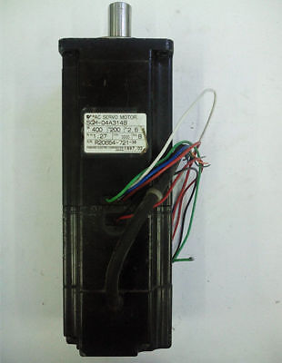 1pcs Used 100% test Yaskawa servo motor SGM-04A314B by DHL or EMS