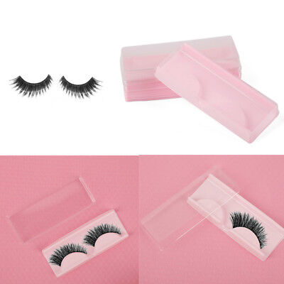 10pcs Makeup False Eyelash Care Storage Case Portable Box Container Compartment