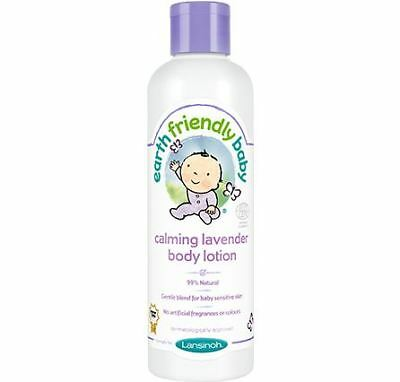 Earth Friendly Baby Calming Lavender Body Lotion 250ml EcoCert