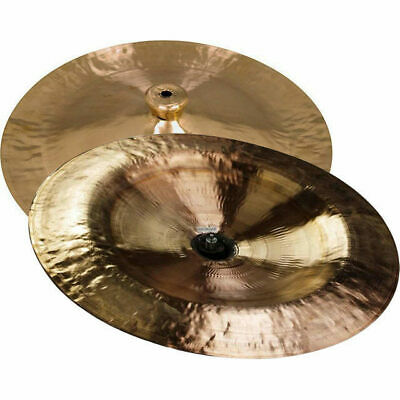 """Wuhan 12"""" China Cymbal - Genuine Handcrafted in Wuhan China"""