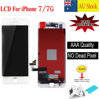 "For iPhone 7 4.7"" LCD Screen Digitizer Touch Display Assembly Replacement White"