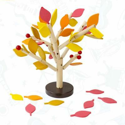 DIY Assembly Kid Tree Blocks Puzzle Wooden Toy Baby Creative Game Hot Sale